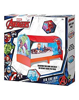 Avengers Over Bed Tent Den