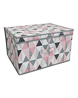 Geometric Large Storage Chest