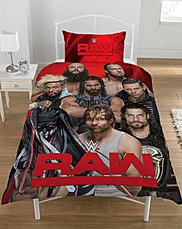 WWE Raw Vs Smackdown Panel Duvet