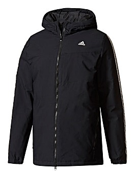 adidas 3 Stripe Padded Jacket