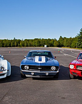 Triple American Muscle Car Blast