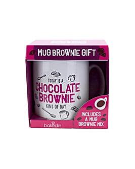 Bakedin Chocolate Mug Brownie Gift Set