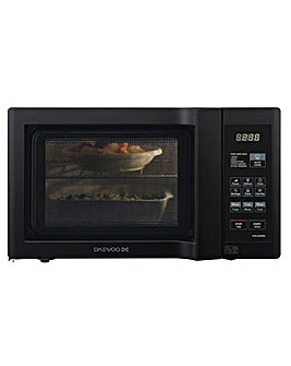 Daewoo 20Litre Duo-Plate Black Microwave