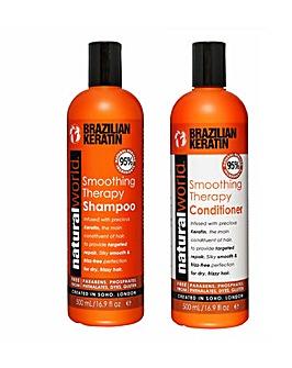 Keratin Shampoo & Conditioner Set