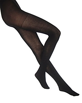 Extra Roomy Warm Ribbed Tights