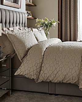 Decadence Jacquard Duvet Cover Set