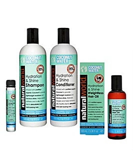 Coconut Water Complete Hair Care Set