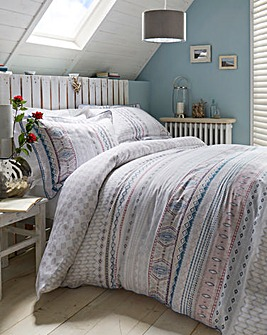 Lorraine Kelly Fairisle Duvet Cover Set