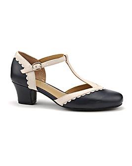 Hotter Viviene Wide Fit T Bar Shoe
