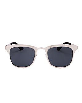 Alyssa White Frame Sunglasses