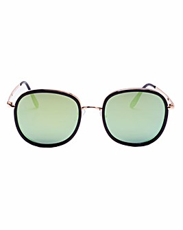 Zoe Black Frame Sunglasses