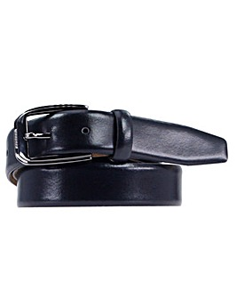 Souled Out Black Formal Leather Belt