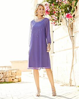 Nightingales Embellished Dress