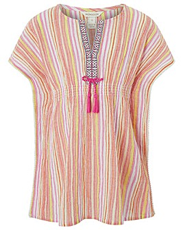 Monsoon Sadie Stripe Kaftan