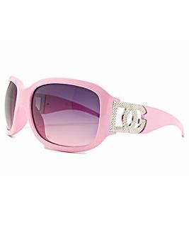 DG Eyewear Pink Frame Sunglasses