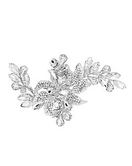 Alan Hannah leaf and flower hair slide