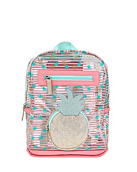 Accessorize Pineapple Jelly Backpack