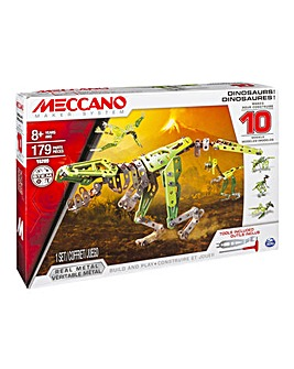 Meccano 10 Model Set Dinosaur