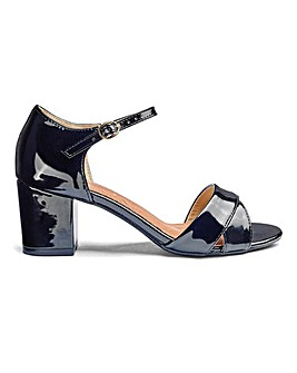 Heavenly Soles Crossover Sandals E Fit