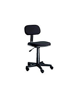 Gas Lift Adjustable Office Chair - Black