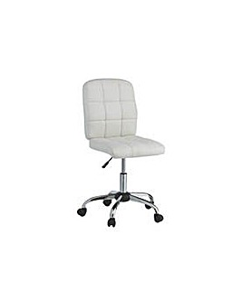Jarvis Gas Lift  Office Chair White