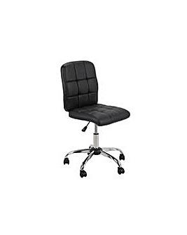 Jarvis Adjustable Office Chair - Black.