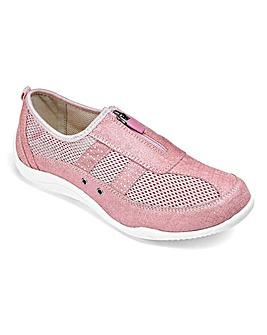 Cushion Walk Zip Shoes EEE Fit