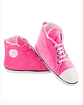 Ladies Hi-Top Slippers