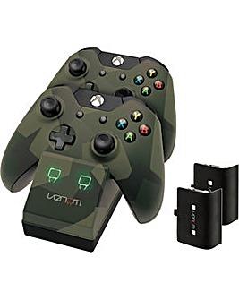 Xbox One Camo Twin Docking Station