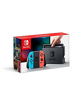 Nintendo Switch Neon Red/Blue Console