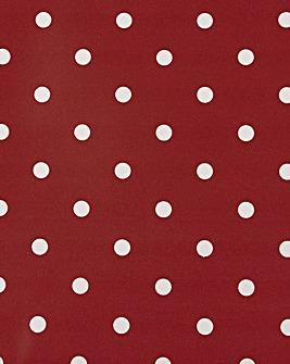 Wipe Clean Tablecloth Polka Dot