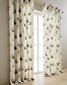 Kiera Printed Lined Curtains