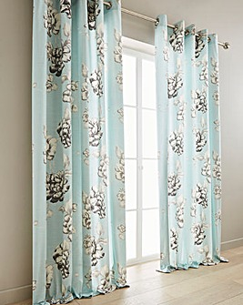 Tivoli Printed Blackout Curtains