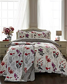 Ingrid Blush Duvet Cover Set