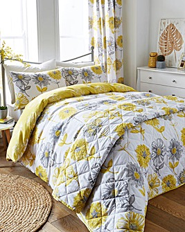 Banbury Yellow Duvet Cover Set