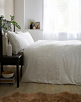 Alexa Embroidered Duvet Cover Set