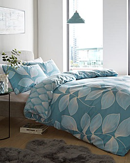 Hadley Teal Duvet Cover Set