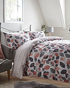 Morgan Dusky Pink Duvet Cover Set