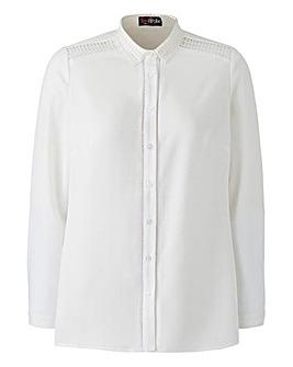 Lovedrobe Shoulder Detail Shirt