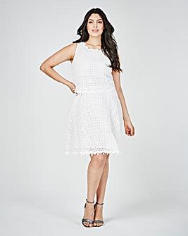 Lovedrobe Crochet Layer Dress