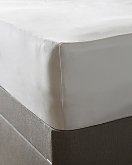 1000 TC Cotton Sateen Deep Fitted Sheet