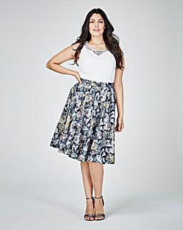 Lovedrobe Print Prom Dress