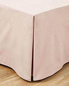 100% Cotton Percale Base Valance Sheet