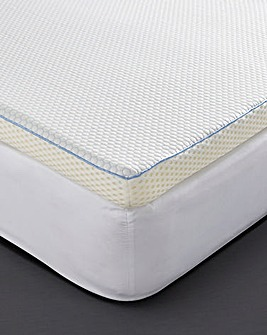 Cooling Memory Foam 5cm Mattress Topper