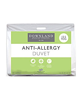 Anti Allergy Hollowfibre 13.5 Tog Duvet
