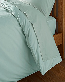 Blue Haze Cotton Rich 180 TC Flat Sheet