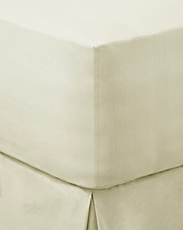 Ivory Extra Deep Fitted Sheet