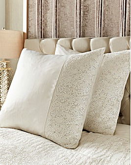 Kylie Darcey Square Pillowcase