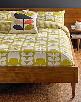 Orla Kiely Flannel Tulip Pillowcases