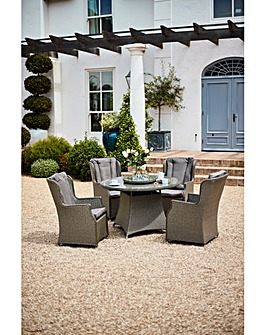 Marbury 4 Seat Dining Set